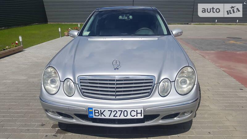 Mercedes E-Class 2002 года в Ровно