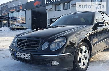 Mercedes-Benz E 270 2003 в Каменец-Подольском