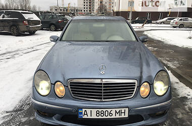 Седан Mercedes-Benz E 320 2002 в Києві