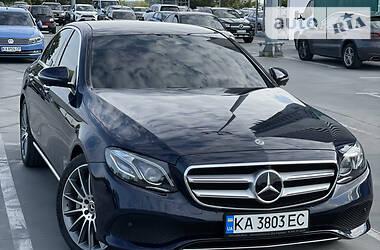 Седан Mercedes-Benz E 350 2018 в Києві