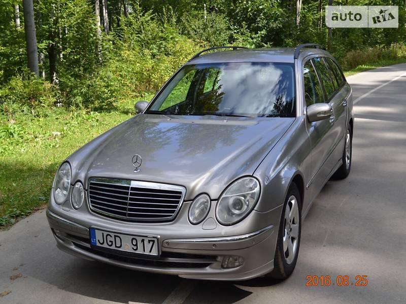 Mercedes-Benz E-Class 2004 в Черновцах
