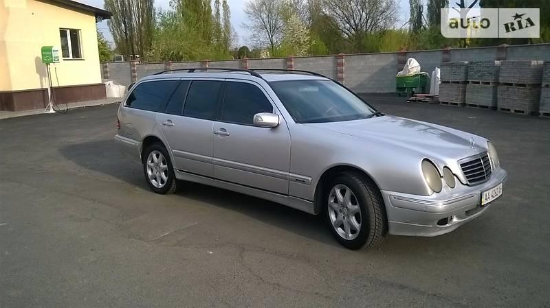 Mercedes E-Class 2001 года в Киеве
