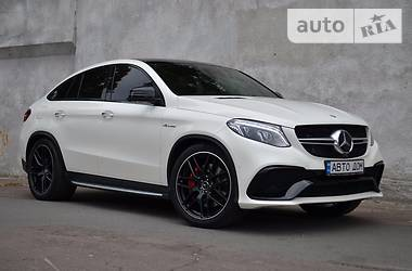 Mercedes-Benz GLE-Class 63S AMG COUPE 2016