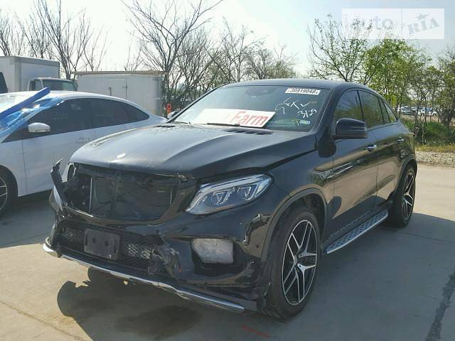 Mercedes-Benz GLE Coupe 2016 в Львове