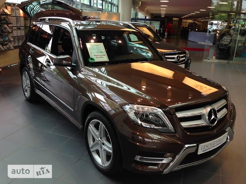 Mercedes-Benz GLK 220 2014 в Киеве