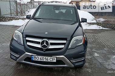 Mercedes-Benz GLK 250 2014 в Тернополе