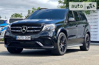 Mercedes-Benz GLS 63 2016 в Киеве