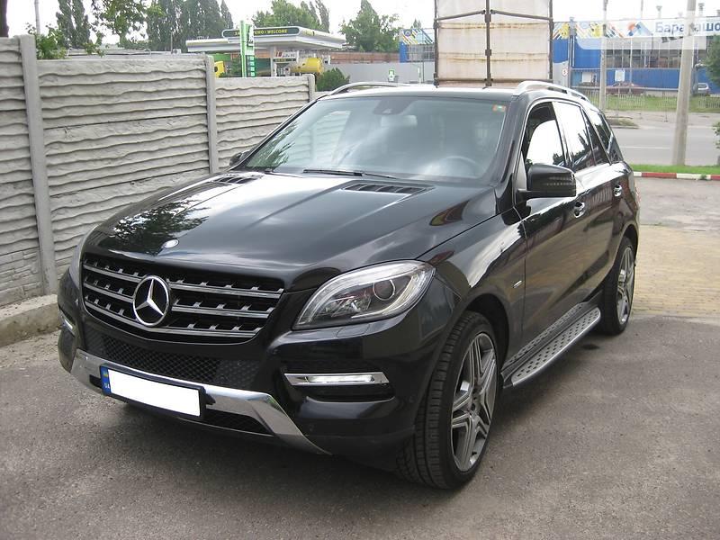 Внедорожник / Кроссовер Mercedes-Benz ML 250 2012 в Харькове