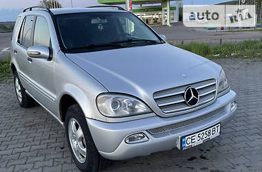 Mercedes-Benz ML 270 2002 в Черновцах
