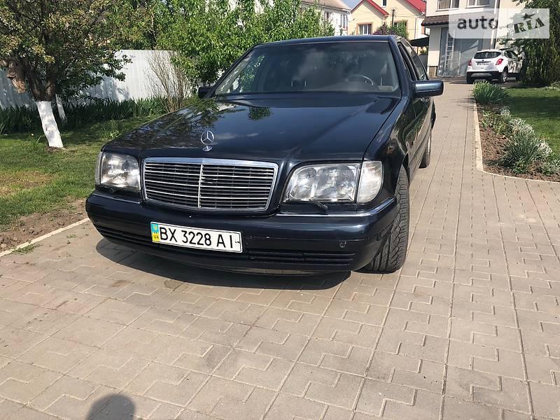 Mercedes-Benz S 300 1997 в Хмельницькому