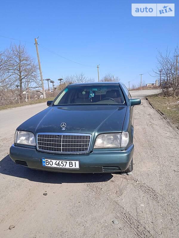 Седан Mercedes-Benz S 300 1993 в Козові