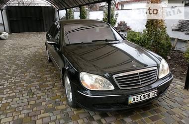 Mercedes-Benz S 320 2002 в Днепре