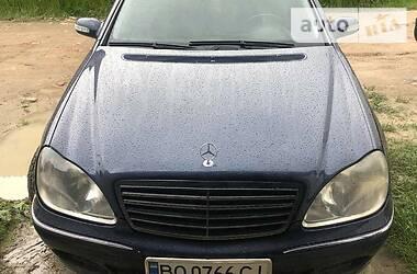 Mercedes-Benz S 320 2000 в Чорткове