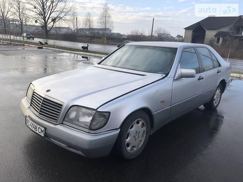 Mercedes-Benz S 350 1992 в Луцке