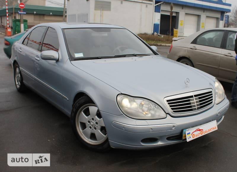 Mercedes-Benz S 400 2001 в Николаеве