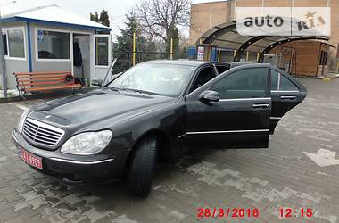 Mercedes-Benz S 430 2002