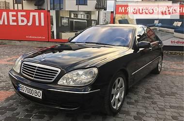 Mercedes-Benz S 430 2001 в Тернополе
