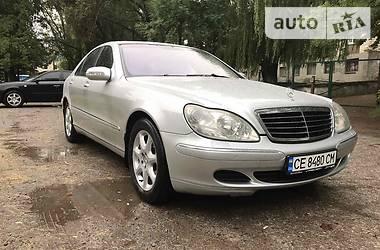 Седан Mercedes-Benz S 430 2002 в Черновцах