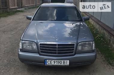 Mercedes-Benz S 500 1992 в Черновцах