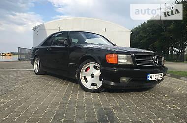 Mercedes-Benz S 500 1989 в Ивано-Франковске
