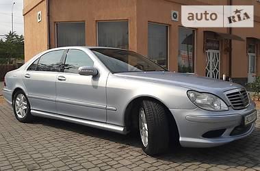 Mercedes-Benz S 500 2003 в Мукачево