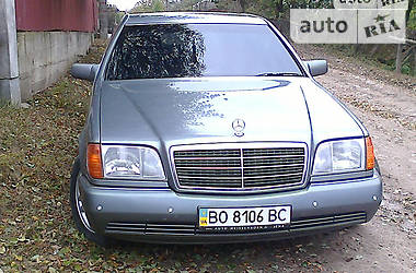 Mercedes-Benz S-Class 1992 в Тернополе