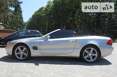 Mercedes-Benz SL 500 2003 в Львове