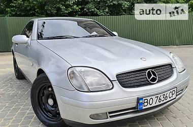 Кабриолет Mercedes-Benz SLK 200 1999 в Тернополе