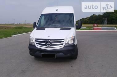 Легковой фургон (до 1,5 т) Mercedes-Benz Sprinter 313 груз. 2014 в Луцке