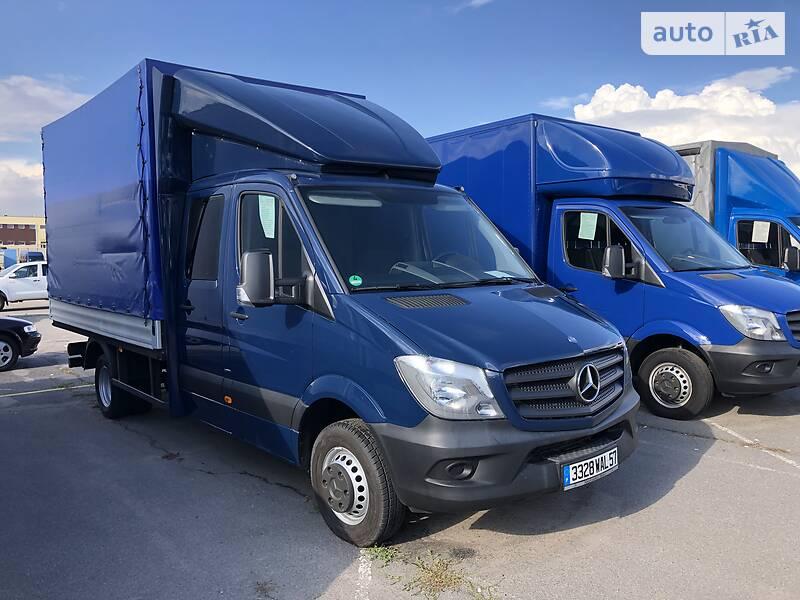 Тентований Mercedes-Benz Sprinter 519 груз. 2015 в Вінниці