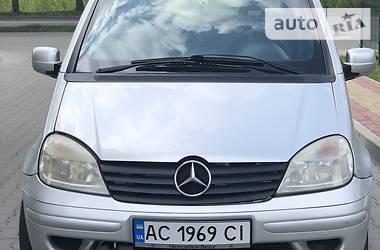 Mercedes-Benz Vaneo 2002 в Луцке