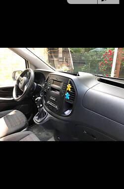 Легковий фургон (до 1,5т) Mercedes-Benz Vito 111 2016 в Києві