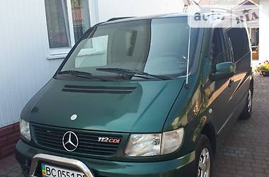 Легковий фургон (до 1,5т) Mercedes-Benz Vito 112 2003 в Червонограді