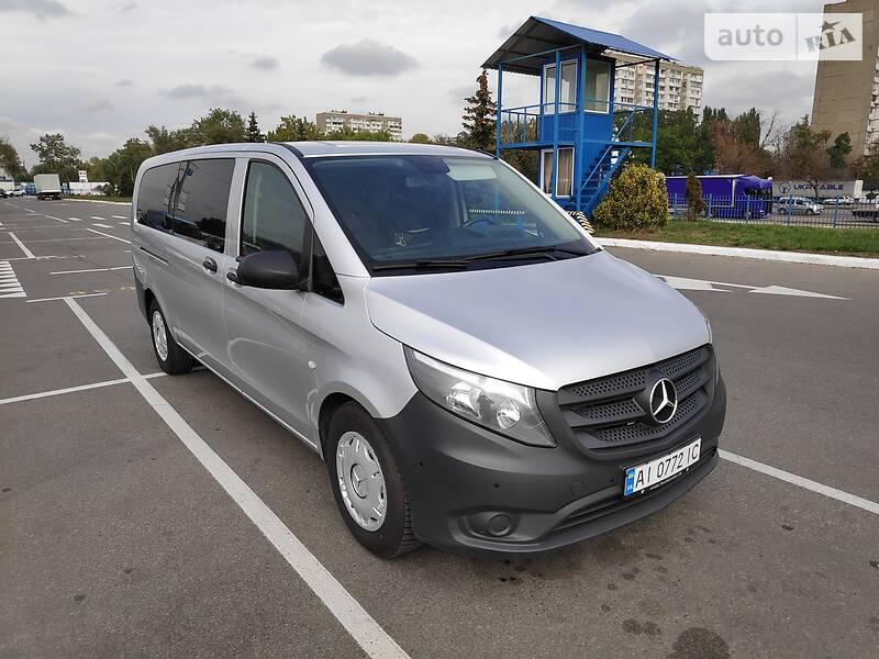 Мінівен Mercedes-Benz Vito 116 2015 в Києві