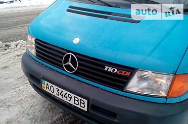 Mercedes-Benz Vito пасс. 110 CDI 1999