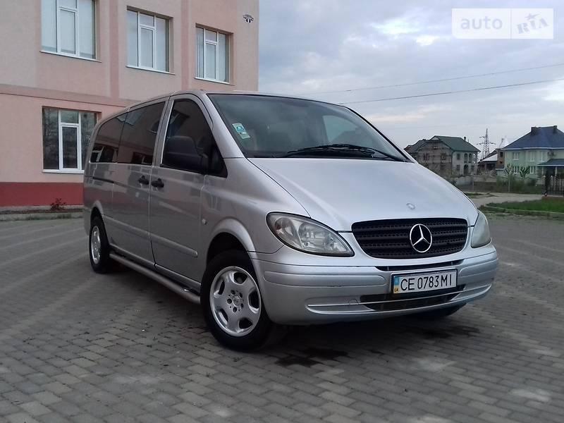 Mercedes-Benz Vito пасс. 2005 в Черновцах
