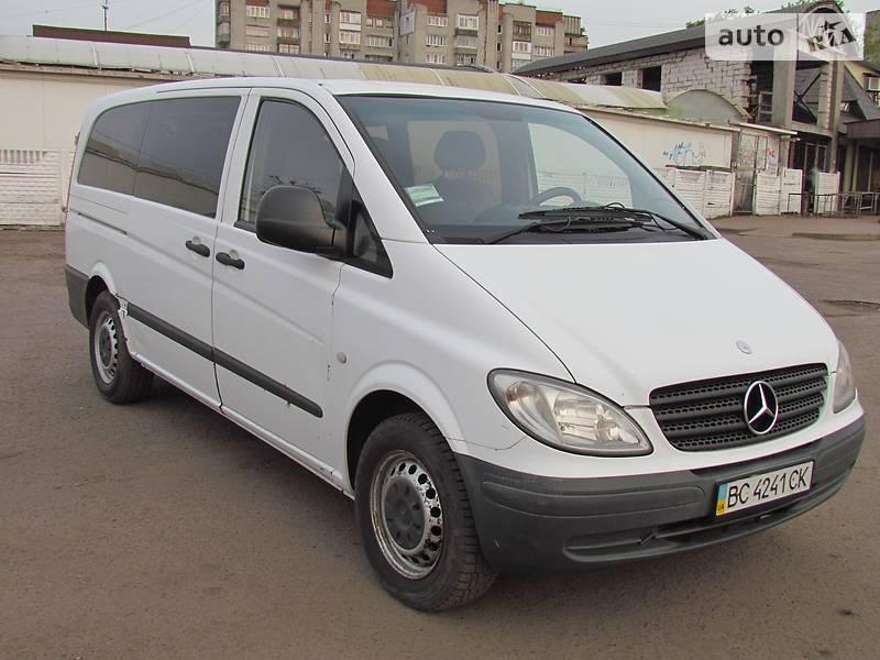 Mercedes-Benz Vito пасс. 2005 в Львове