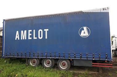 Тентований борт (штора) - прицеп Metaco RE 1998 в Івано-Франківську