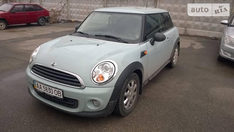 Mini One 2013 года