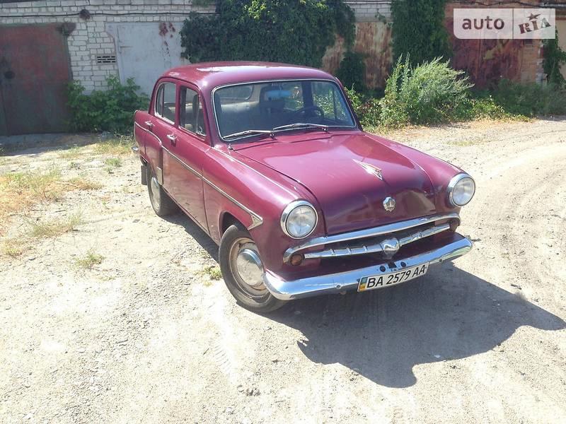 Москвич/АЗЛК 407 1960 в Светловодске
