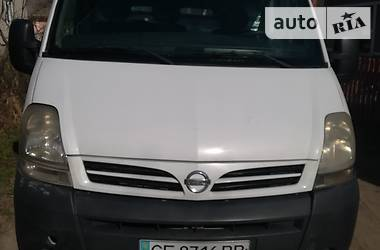 Фургон Nissan Interstar 2005 в Черновцах