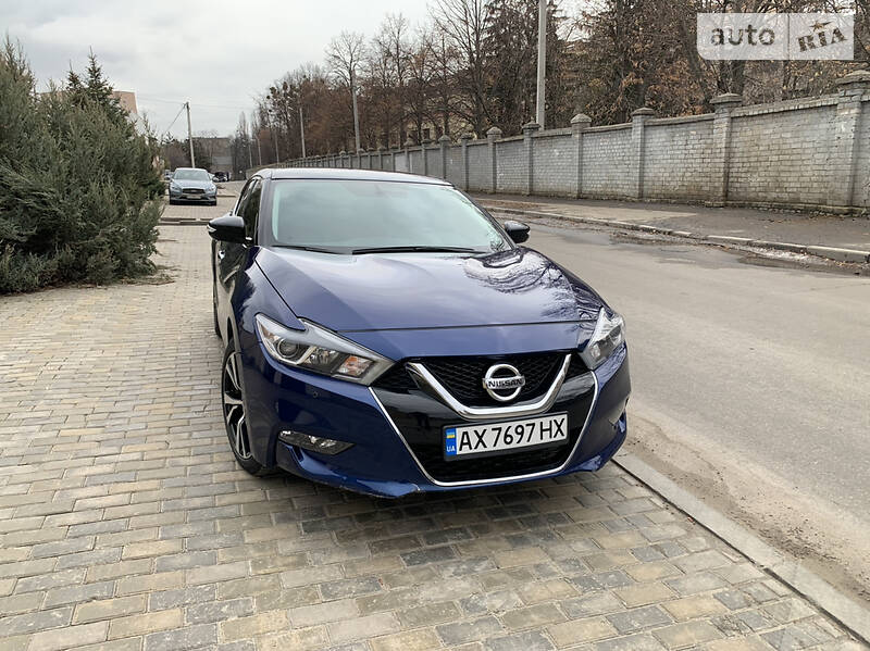 Седан Nissan Maxima 2018 в Харкові