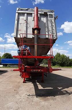 Зерновоз - полуприцеп Novatrail SKI 2004 в Прилуках