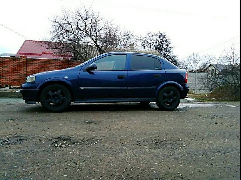 Opel Astra G 1999 в Днепре