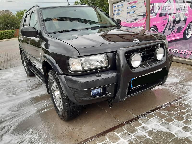 Позашляховик / Кросовер Opel Frontera 2001 в Івано-Франківську