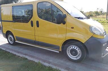 Opel Vivaro груз.-пасс. 2002 в Стрые