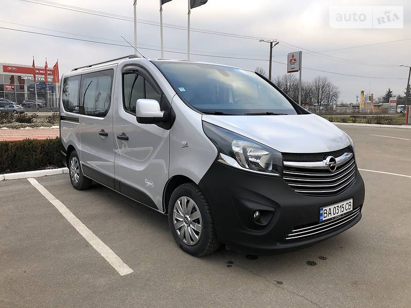 Opel Vivaro пасс. 2017 в Кропивницком
