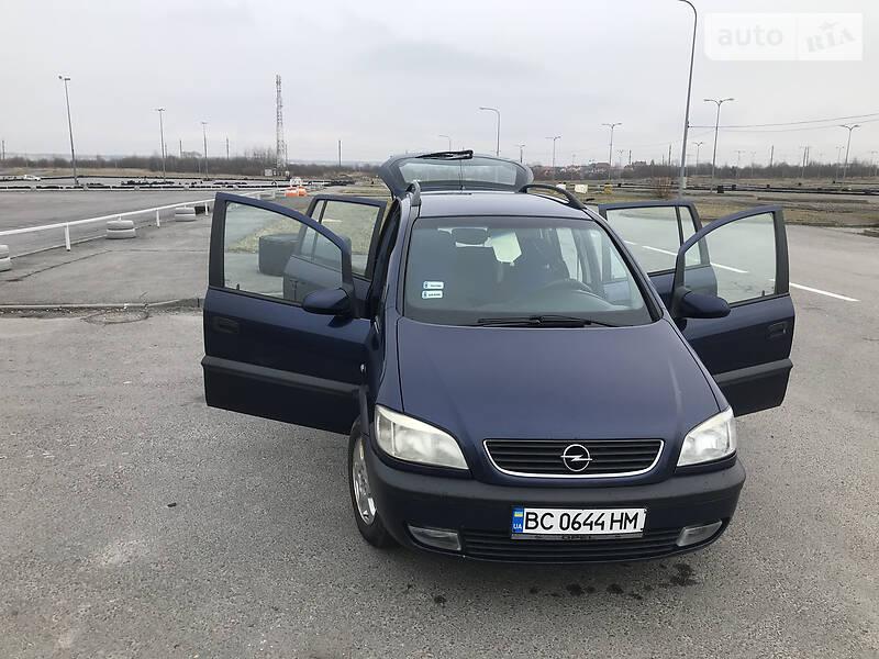 Мінівен Opel Zafira 2001 в Львові