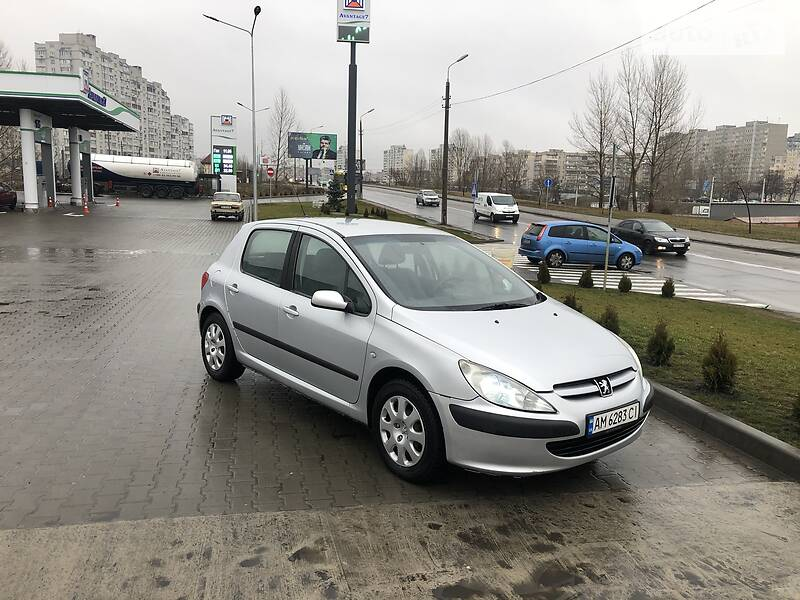 Peugeot 307 2002 в Киеве