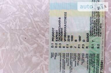 Легковой фургон (до 1,5 т) Peugeot Expert груз.-пасс. 2001 в Житомире
